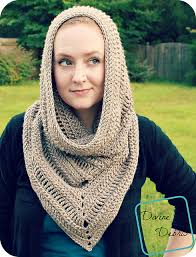 Crochet Hooded Cowl Pattern