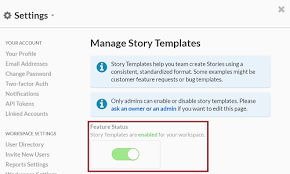 Feature Story Template Introducing Story Templates And 5 Steps To Get Started The