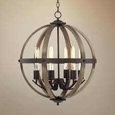 vineyard orb 4 light chandelier bronze 3 light metal orb chandelier vineyard distressed mahogany and bronze