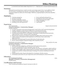 Skills For Construction Workers Resume Resume Construction Worker Resume 12