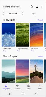 Themes Downloading Free Galaxy Themes Apps The Official Samsung Galaxy Site
