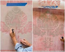 Small Picture How to Stencil Texture Stenciling a Textured Fabric Finish