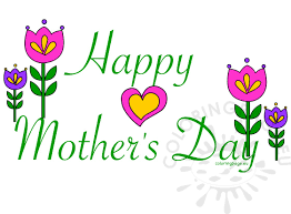 Image result for mothers day clip art