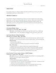 Examples Of Job Objectives For Students How To Write A Good Work