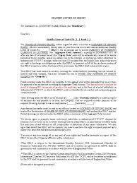 Standard Format Sblc Incoming Final Correction Letter Of