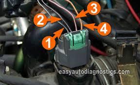 part mass air flow maf sensor test l nissan pathfinder circuit descriptions of the nissan maf sensor connector