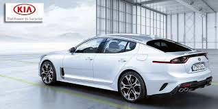 the kia stinger as coo michael cole puts it the most powerful fastest accelerating and most enjoyable vehicle kia has ever made