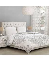 ivory queen comforter set. Brilliant Queen Ahania Fullqueen Comforter Set In Ivoryblack Intended Ivory Queen E