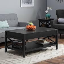 black coffee table. Black Coffee Table E