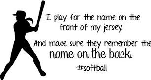 inspirational sports quotes. Perfect Inspirational Softball Wall Decal  Girls Inspirational Sports Quote 30u0026quotx12u0026quot   Throughout Quotes S