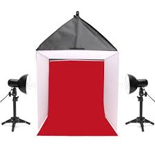 24 inch 60x60x60cm photo photography studio softbox shooting box light tent kit