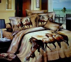 3d horse design patterns print bedding comforter sets queen size bedspreads duvet cover bed in a bag bedroom sheet fashion quilt cotton unique duvet covers