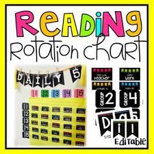 Center Rotation Chart Center Rotation Chart Editable Worksheets Teaching