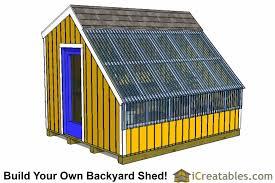 8x10 greenhouse plans sku shed8x10 gh
