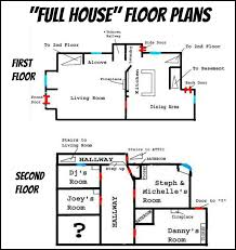 floor plans for tv s full house home san francisco s