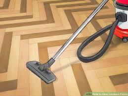 image titled clean linoleum floors step 1