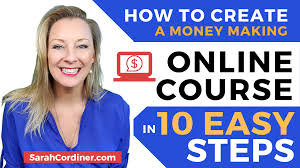 The 10 Steps To Creating A Wildly Successful Online Course