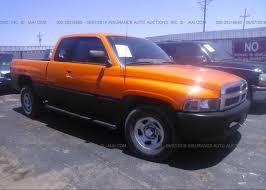 3B7HC13Z9TG100981, Clear orange Dodge Ram 1500 at LUBBOCK, TX on ...