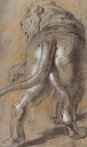 the rage during the flemish baroque era was an extravagant painting style that emphasized movement and sensuality this preparatory drawing for daniel in