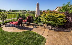 choosing a stamped concrete patio