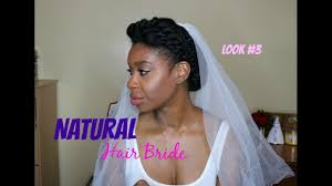 Natural Formal Hairstyles Bridal Look For The Natural Hair Bride Bridesmaid Hairstyles 4c