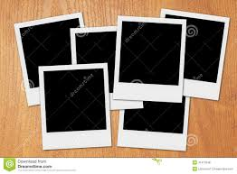 blank polaroid frames desk stock photos images  pictures