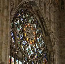 milan cathedral rose window