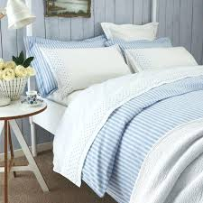 light blue and white duvet cover luxury striped covers bedding at bedeck home with trim