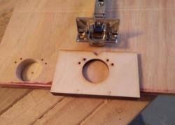 hinge jig laser cut for kitchen cabinet door hinges