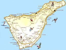 Tenerife Cartina Spagna Tomveelers