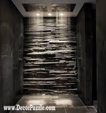 shower tile ideas shower tile designs tiling a shower black stone tile shower