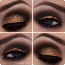 shiny eye makeup google search image 2874659 by marky on gold smokey eye eyeshadow for brown