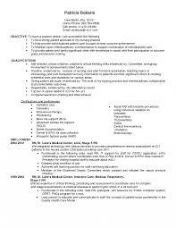 Resume For Icu Nurse Toreto Co Nursing Computer Skills Student
