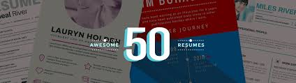 Design Resumes 100 Inspiring Resume Designs And What You Can Learn From Them Learn 21