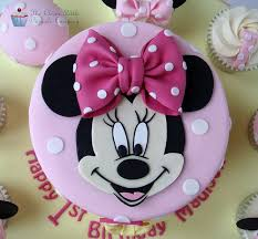 Birthday Cake With Minnie Mouse Cakes Decoration Ideas Little 1024