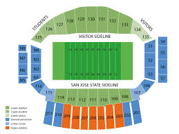 Spartan Stadium Ca Seating Chart And Tickets Formerly
