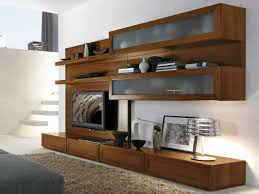 wall cabinets living room furniture. Amazing Contemporary Wall Cabinets Living Room Unit Designs For Brown Wooden Furniture A