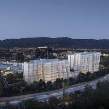 two frank gehry buildings will be a part of warner bros office expansion