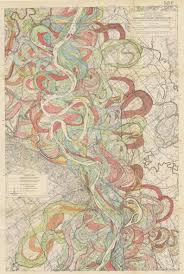 Lower Mississippi River Charts A Cacophony Of Time Harold Fisks Mississippi River Maps