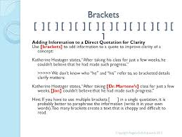 Brackets In Quotes Stunning Punctuation Review Parentheses Brackets And Ellipses Angela