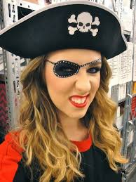 pirate costume and makeup
