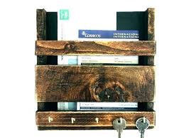 key holder wall mount mail organizer hanging and an target
