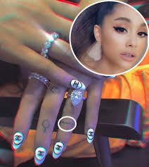 Ariana Grande Covers Up Her Pete Tattoo With A Band Aid Perez