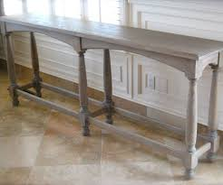 Rustoleum Driftwood Stain 6 Legged Console Table 8 Steps With Pictures