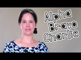 India for international phonetic alphabet & ida for apco police radio alphabet. Learn The Phonetic Alphabet Youtube