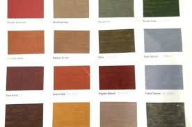 Sherwin Williams Stain Chart Sherwin Williams Stain Colors Exterior Rscgroup Info