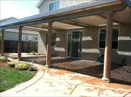 flat roof patio design ideas