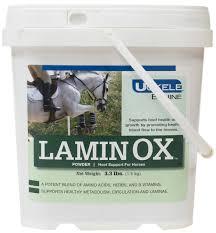 Laminox Hoof Supplement For Horses 3 3 Lb 30 60 Days