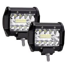 Off Road Flood Lights Jaromepower 2pcs 60w 5 Inch Led Work Light Spotlight Off