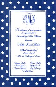 Polka Dot Invitations Blue Polka Dots Invitation
